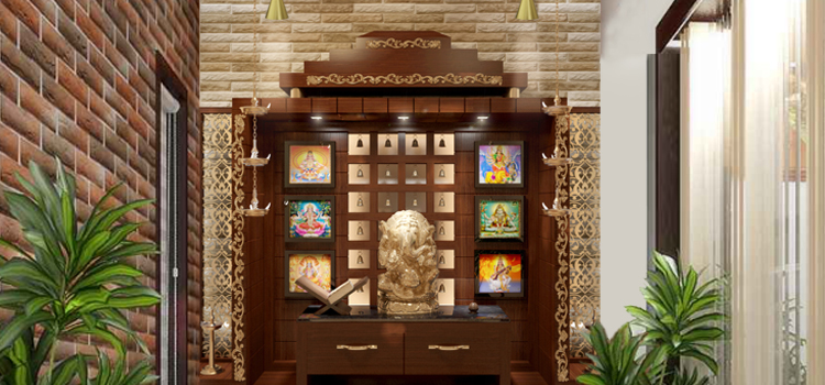 Indian Pooja Room Interior Design